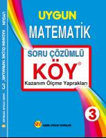 KÖY Matematik 3. Sınıf