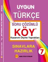 KÖY Türkçe 7. Sınıf