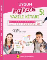 İngilizce Yazılı Kitabı 5. Sınıf