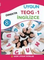 Uygun TEOG 1 – İngilizce Kitabı 8. Sınıf