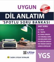 Uygun – YGS Dil ve Anlatım Spotlu Soru Bankası Kitabı