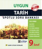 Uygun – Tarih Spotlu Soru Bankası Kitabı – 9. Sınıf
