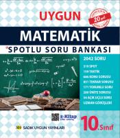 Uygun – Matematik Spotlu Soru Bankası Kitabı – 10. Sınıf