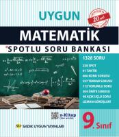 Uygun – Matematik Spotlu Soru Bankası Kitabı – 9. Sınıf