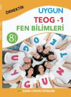 Uygun TEOG 1 -Fen Bilimleri Kitabı 8. Sınıf