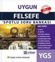 Uygun – YGS Felsefe Spotlu Soru Bankası Kitabı