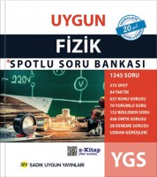 Uygun – YGS Fizik Spotlu Soru Bankası Kitabı