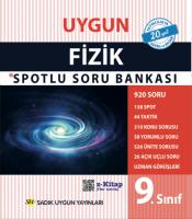 Uygun – Fizik Spotlu Soru Bankası Kitabı – 9. Sınıf