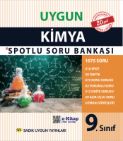 Uygun – Kimya Spotlu Soru Bankası Kitabı – 9. Sınıf