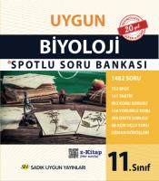 Uygun – Biyoloji Spotlu Soru Bankası Kitabı – 11. Sınıf