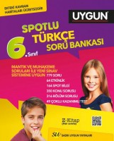 Türkçe Spotlu Soru Bankası 6. Sınıf (Kavram Haritası Hediyeli)