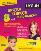 Türkçe Spotlu Soru Bankası 8. Sınıf (Kavram Haritası Hediyeli)