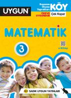 UYGUN – KÖY – Matematik 3. Sınıf