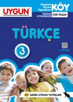 UYGUN – KÖY – Türkçe 3. Sınıf