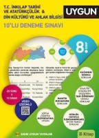 UYGUN – 10'lu Deneme Sınavı – T.C. İnkılâp Tarihi ve Atatürkçülük – Din Kültürü ve Ahlak Bilgisi 8. Sınıf