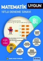 Uygun 8. Sınıf Matematik 10'lu Deneme Sınavı