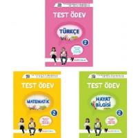 UYGUN – Test Ödev Kitapları (Türkçe- Matematik- Hayat Bilgisi) – 2. Sınıf