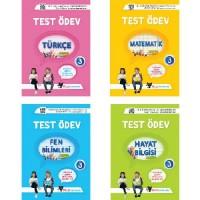 UYGUN – Test Ödev Kitapları (Türkçe- Matematik- Fen Bilimleri – Hayat Bilgisi) -3. Sınıf