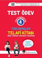 UYGUN- Test Ödev Telafi Kitabı 4. Sınıf