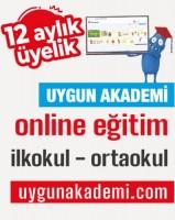 Uygun Akademi – Online Eğitim – 12 Aylık – Öğrenci Üyelik