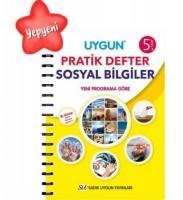 UYGUN – Pratik Defter – Sosyal Bilgiler 5. Sınıf