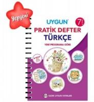 UYGUN – Pratik Defter – Türkçe 7. Sınıf