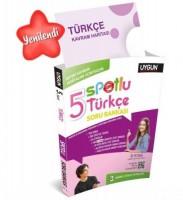 UYGUN – Spotlu Soru Bankası – Türkçe 5. Sınıf (Kavram Haritası Hediyeli)