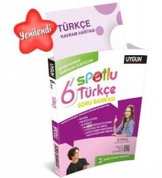 UYGUN – Spotlu Soru Bankası – Türkçe  6. Sınıf (Kavram Haritası Hediyeli)