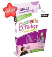 UYGUN – Spotlu Soru Bankası – Türkçe 8. Sınıf (Kavram Haritası Hediyeli)