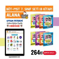 Uygun – BÖT-MST 7. Sınıf Seti (8 Kitap) Alana  + Online Eğitim Üyelik Hediye!