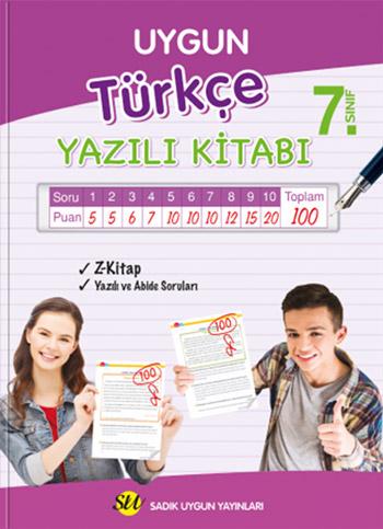 Türkçe Yazılı Kitabı 7. Sınıf