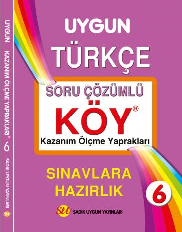 KÖY Türkçe 6. Sınıf