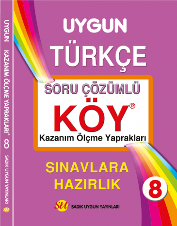 KÖY Türkçe 8. Sınıf