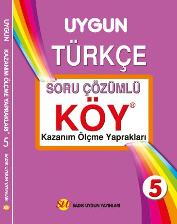 KÖY Türkçe 5. Sınıf