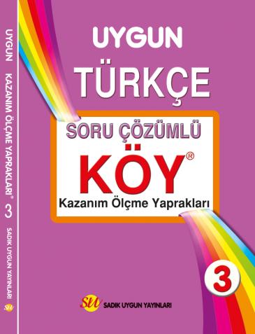 KÖY Türkçe 3. Sınıf