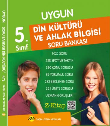 Din Kültürü ve Ahlâk Bilgisi Soru Bankası 5. Sınıf