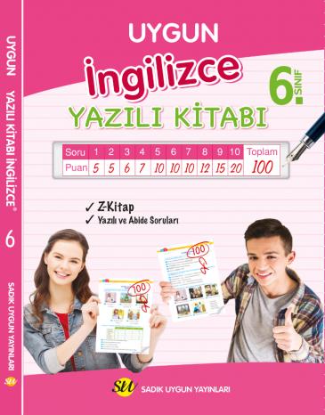 İngilizce Yazılı Kitabı 6. Sınıf