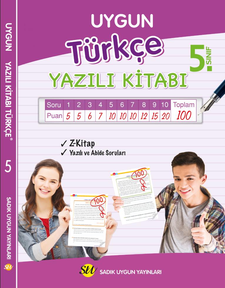 Türkçe Yazılı Kitabı 5. Sınıf