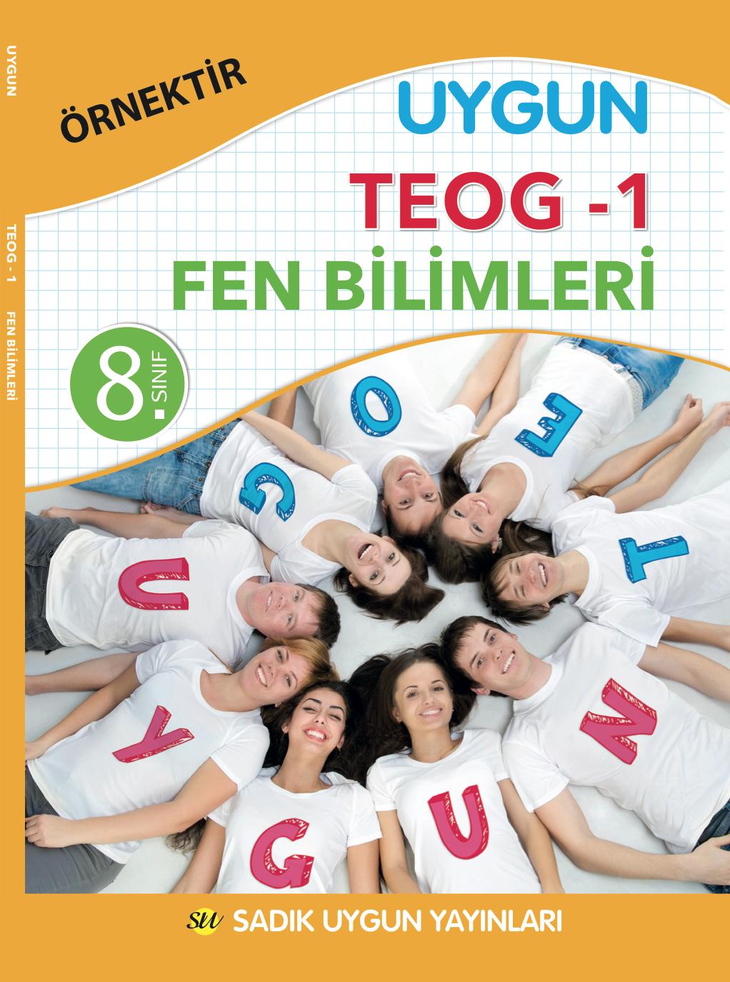 Uygun TEOG 1 -Fen Bilimleri Kitabı