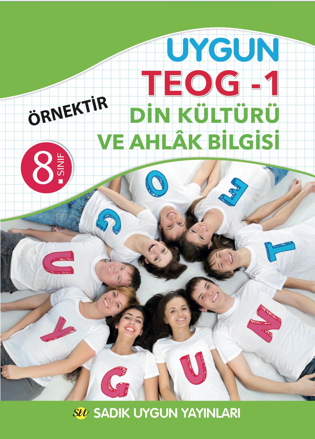 Uygun TEOG 1 – Din Kültürü ve Ahlak Bilgisi Kitabı 8. Sınıf