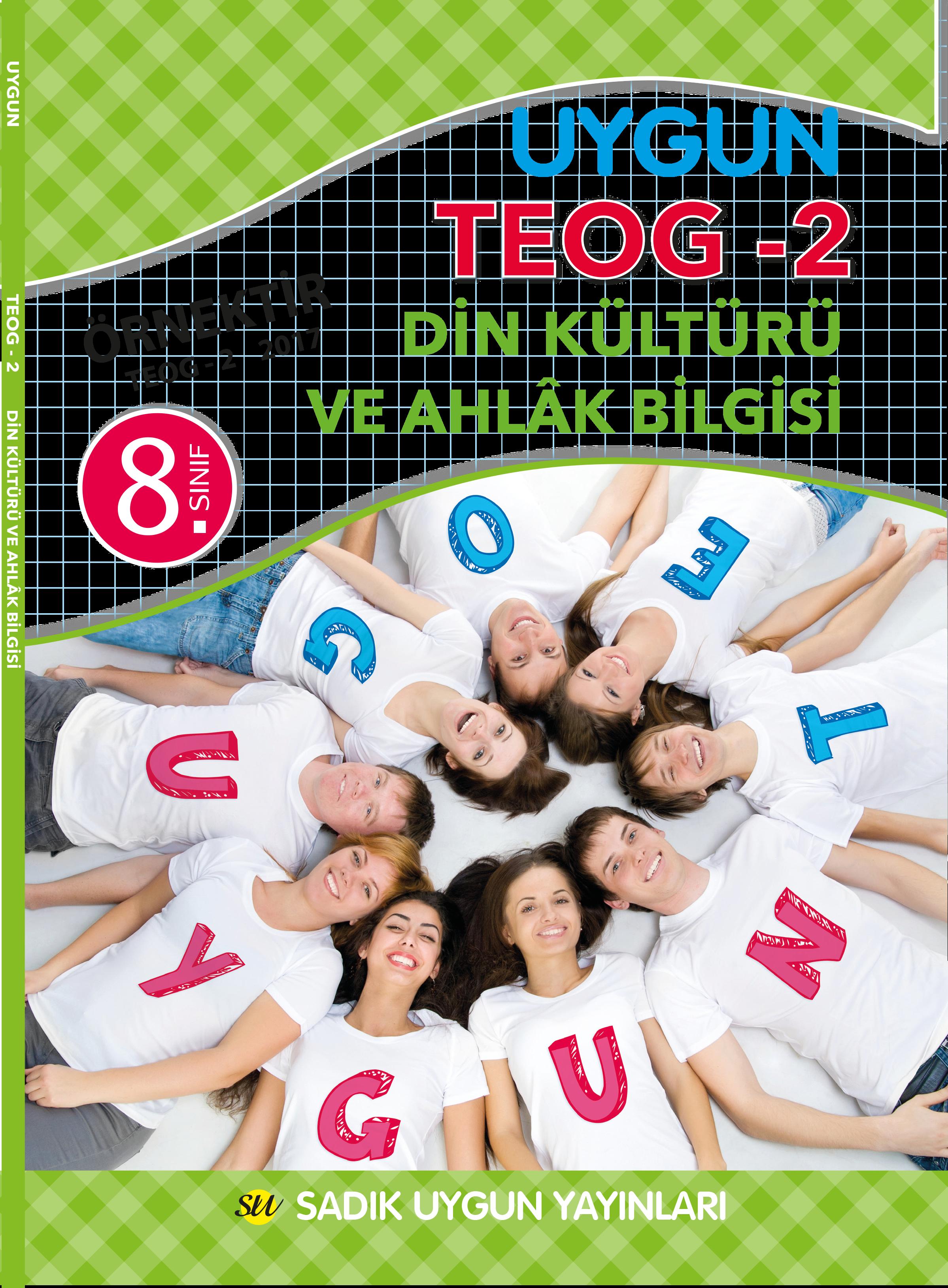 Uygun TEOG 2 – Din Kültürü ve Ahlak Bilgisi Kitabı 8. Sınıf