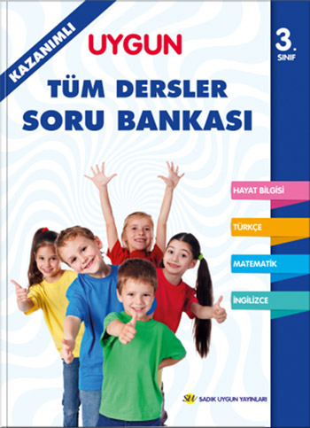 Tüm Dersler Kazanımlı Soru Bankası 3. Sınıf