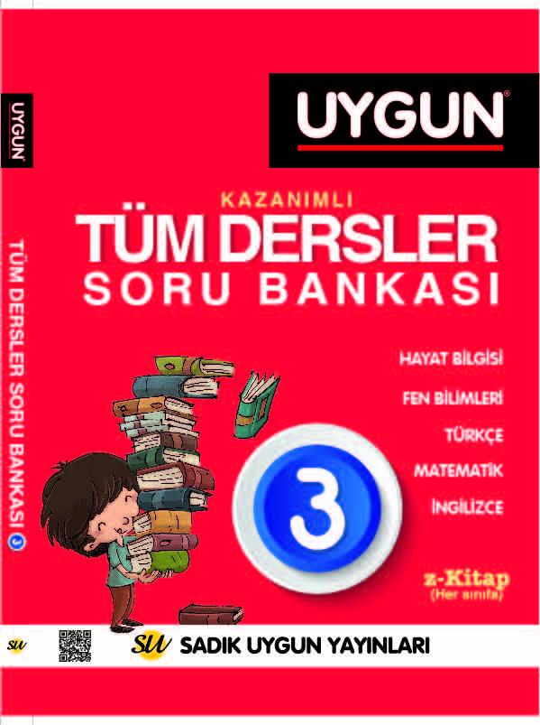 UYGUN – Tüm Dersler Soru Bankası 3. Sınıf