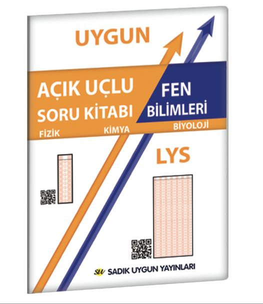 Uygun LYS – Fen Bilimleri Açık Uçlu Soru Kitabı