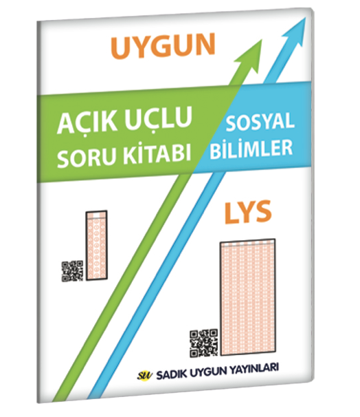 Uygun LYS – Sosyal Bilimler Açık Uçlu Soru Kitabı