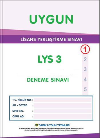 LYS Deneme Sınavı – 3 (Coğrafya – Edebiyat)