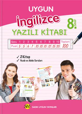 İngilizce Yazılı Kitabı 8. Sınıf