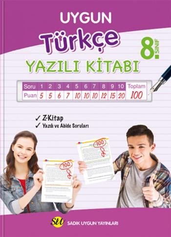Türkçe Yazılı Kitabı 8. Sınıf