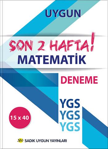 Uygun YGS Deneme Matematik Kitabı (Son İki Hafta)