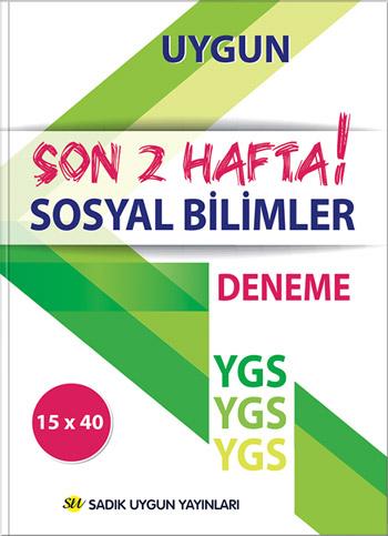 Uygun YGS Deneme Sosyal Bilgileri Kitabı (Son İki Hafta)
